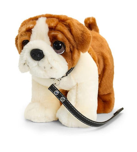 Bulldog on lead 30cm