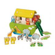 Shape Sorting Noah's Ark wooden toy
