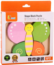 Shape Block puzzle - Butterfly