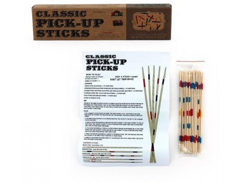 Classic Pick Up Sticks Wooden