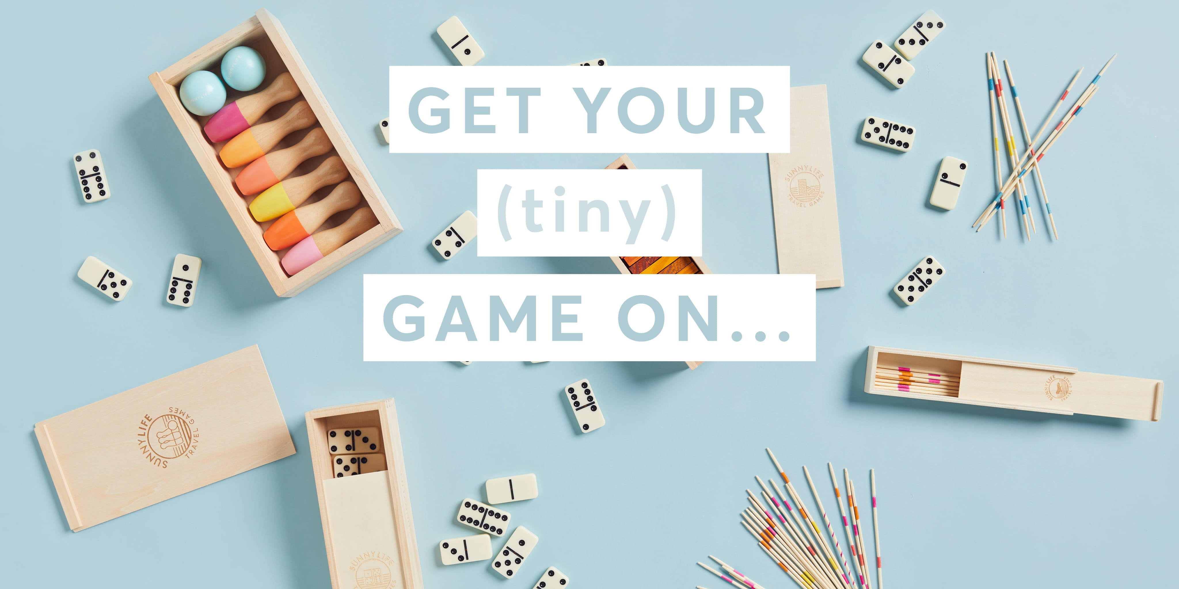 It's game on with Sunnylife's range of travel games