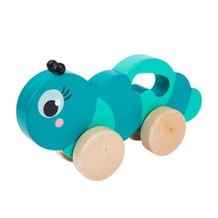 Sunnylife | Push n Pull Toy | Caterpillar