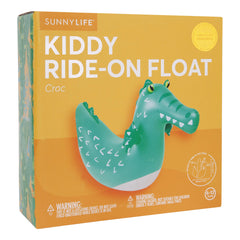 Sunnylife | Kiddy Ride-On Float | Croc