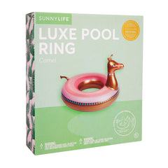 Sunnylife | Luxe Pool Ring | Camel
