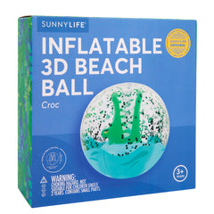 Sunnylife | 3D Inflatable Beach Ball | Croc