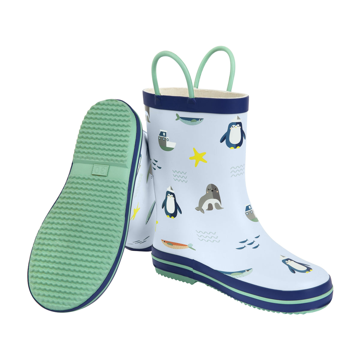 Sunnylife | Kids Rain Boot 3-4 | Explorer