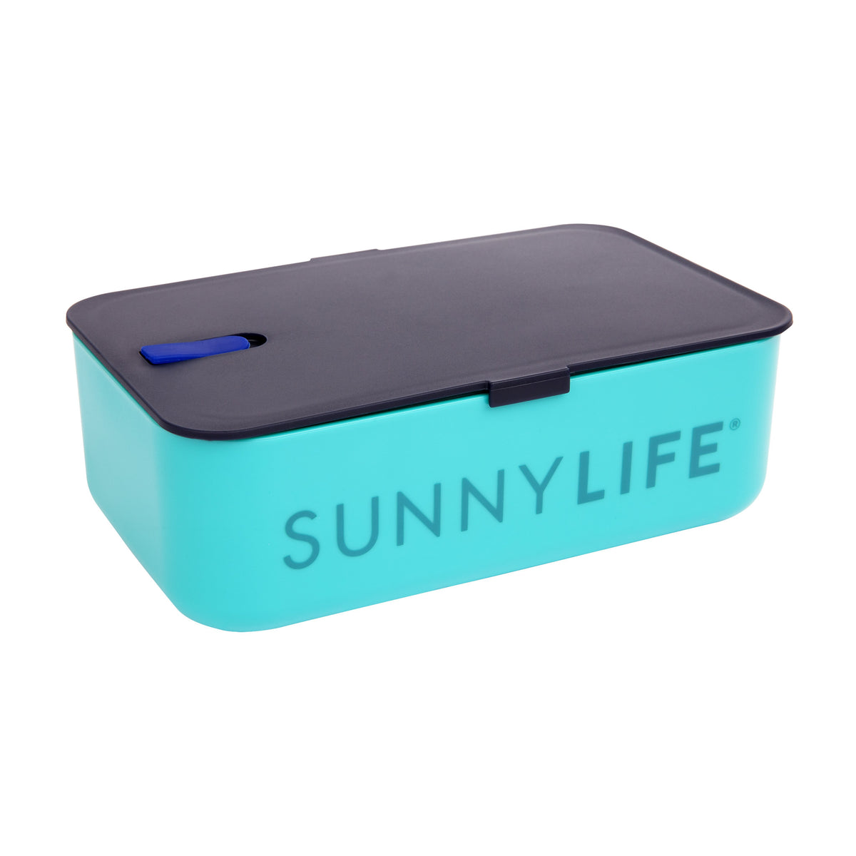 Sunnylife | Lunch Bag | Electric Bloom Navy Blue