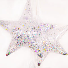 Inflatable Bunting | Holographic Glitter