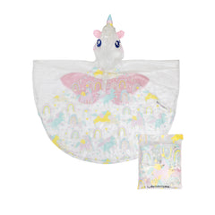 Kids Poncho | Unicorn