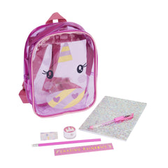 Kids Stationery Mini Backpack | Unicorn