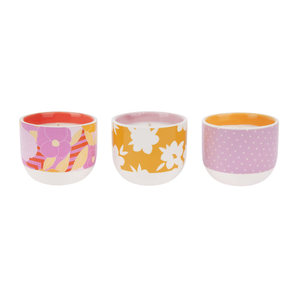 Sunnylife | Scented Candle Pack | Wild Posy