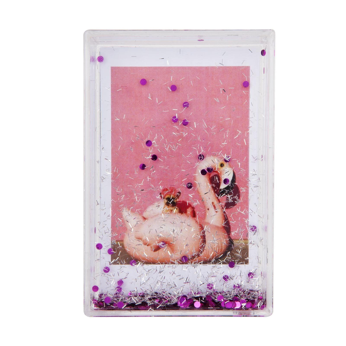 Sunnylife | Glitter Picture Frame Rectangle | Pink
