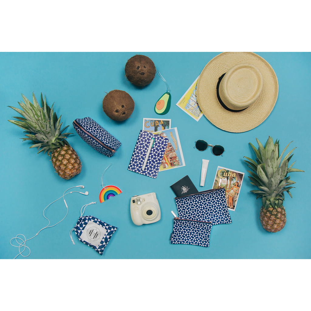 Sunnylife Make-Up Pouch Andaman