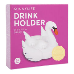 Sunnylife | Inflatable Family Drink Holder | Swan
