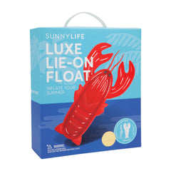 Sunnylife | Luxe Lie-On Float | Lobster