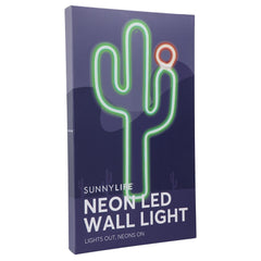 Sunnylife | Neon LED Wall Light Large | Cactus