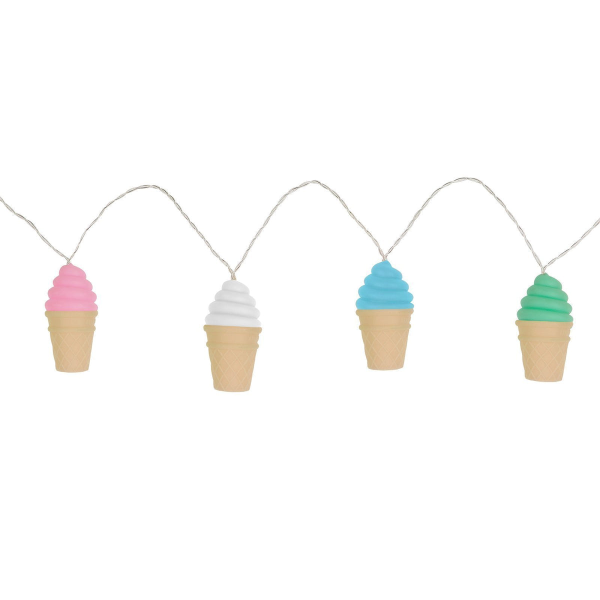 Sunnylife | String Lights | Soft Touch Ice Cream