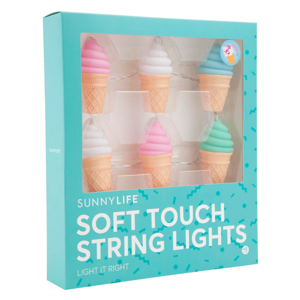Sunnylife Ice Cream Soft Touch String Light
