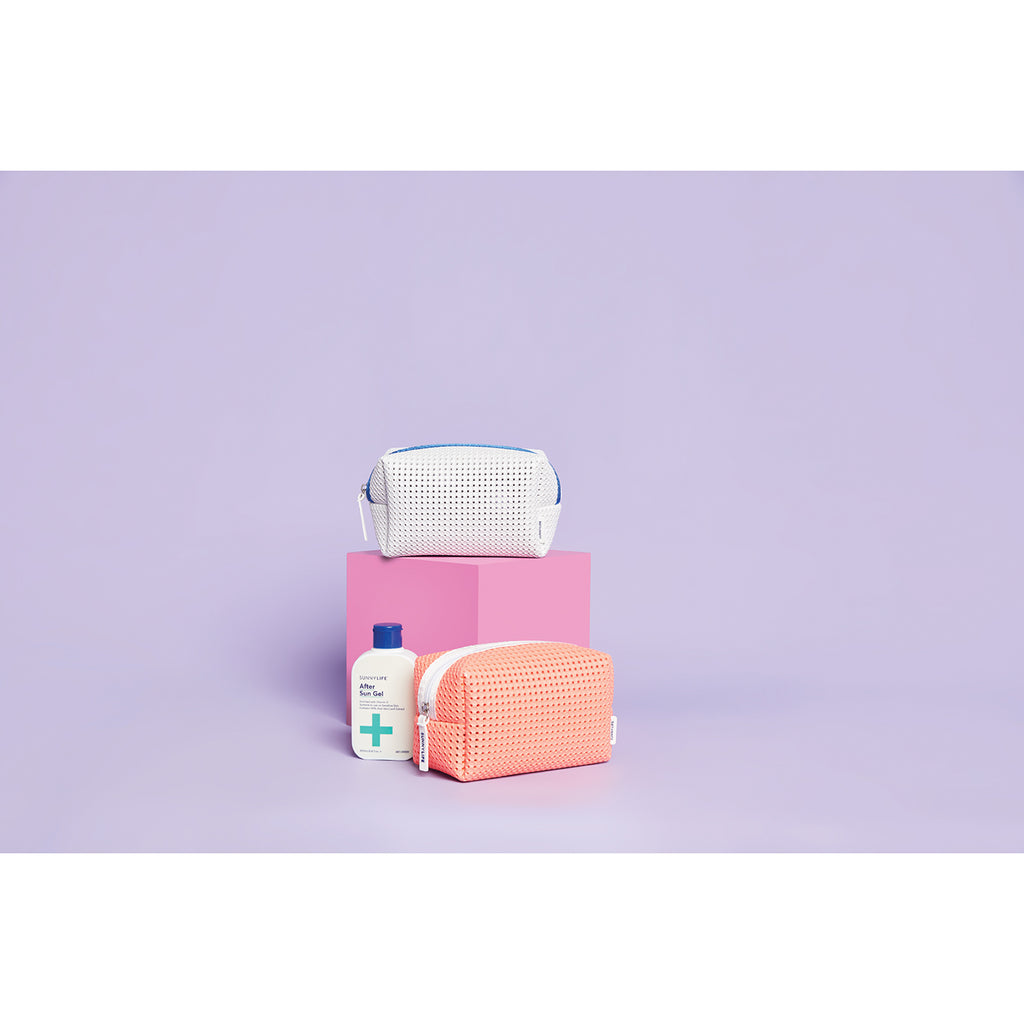 Sunnylife Refresh Cosmetic Bag | White