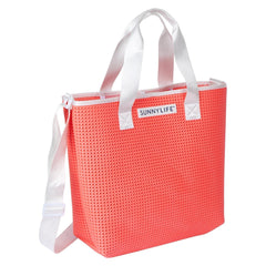 Sunnylife | Refresh Tote Bag | Neon Coral