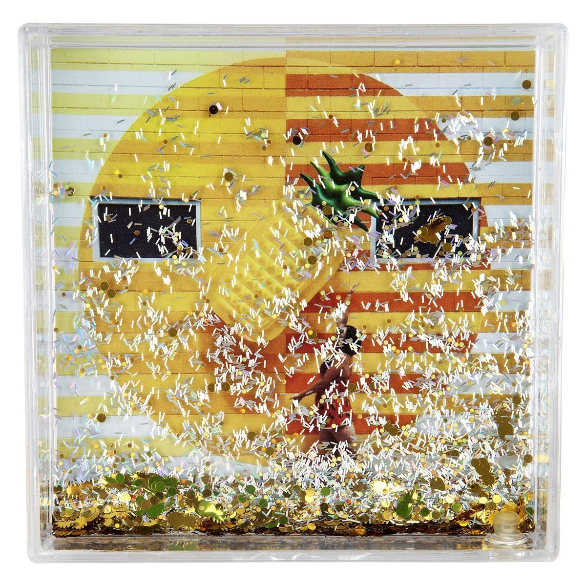 Sunnylife | Glitter Picture Frame Square | Pineapple