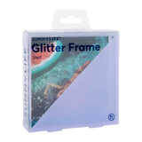 Sunnylife Glitter Picture Frame Square | Shell