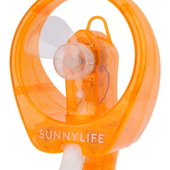 Sunnylife | Water Misting Fan | Neon Orange