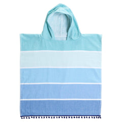 Sunnylife | Kids Hooded Fouta Towel | Caribbean