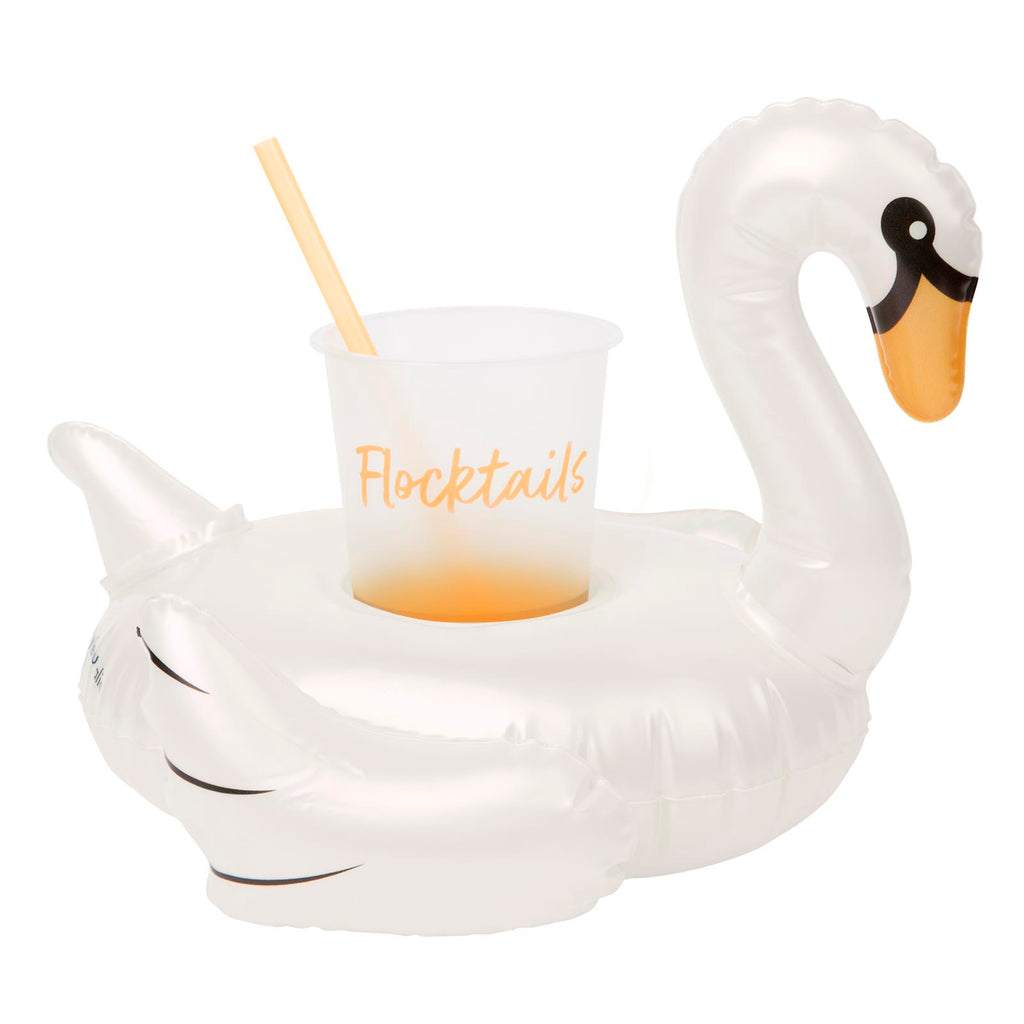 Sunnylife Inflatable Drink Holder | Swan