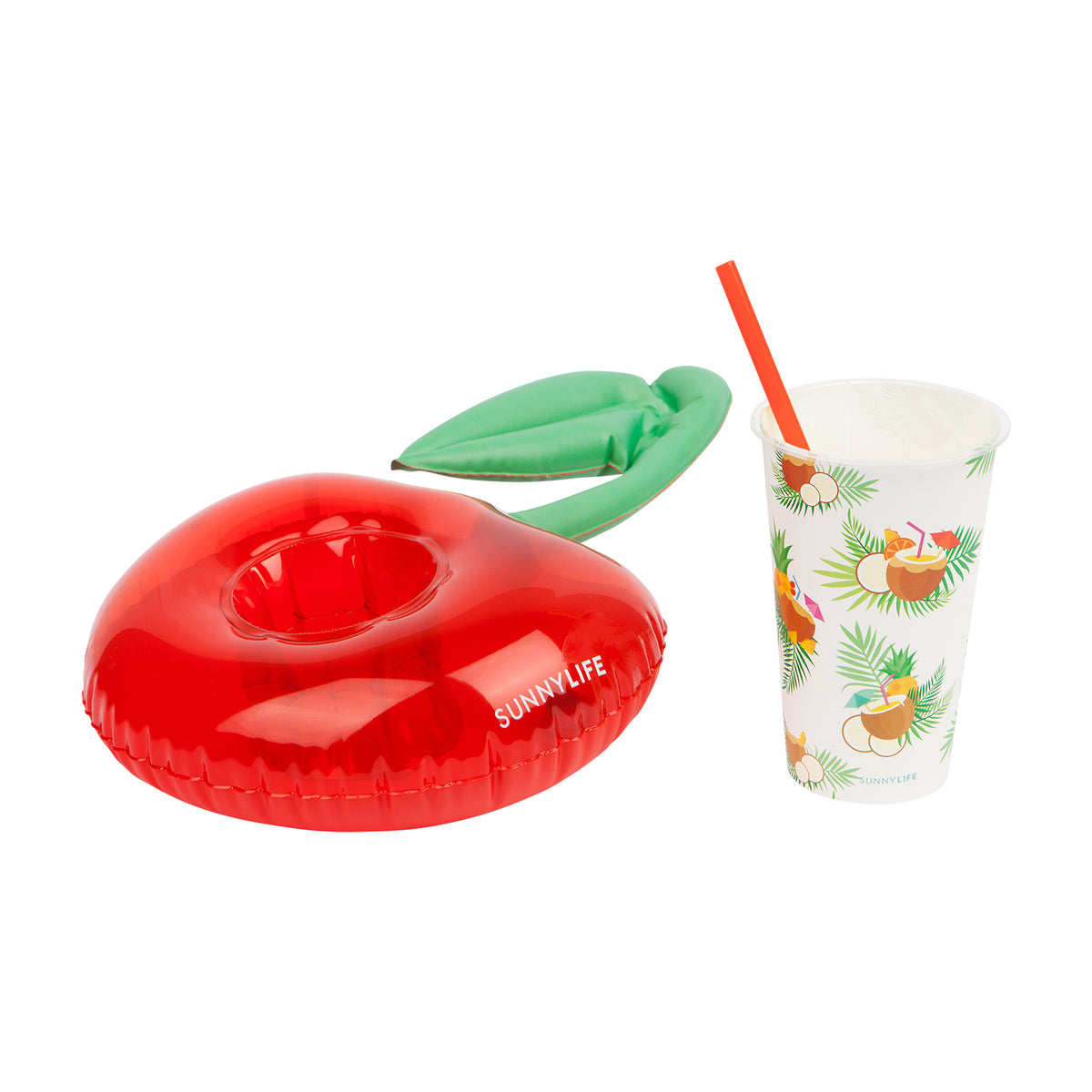 Sunnylife | Inflatable Drink Holders Luxe | Pina Colada