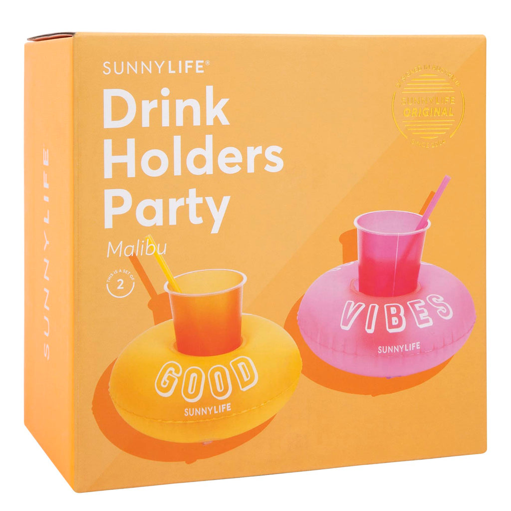 Sunnylife Inflatable Drink Holders Party | Malibu