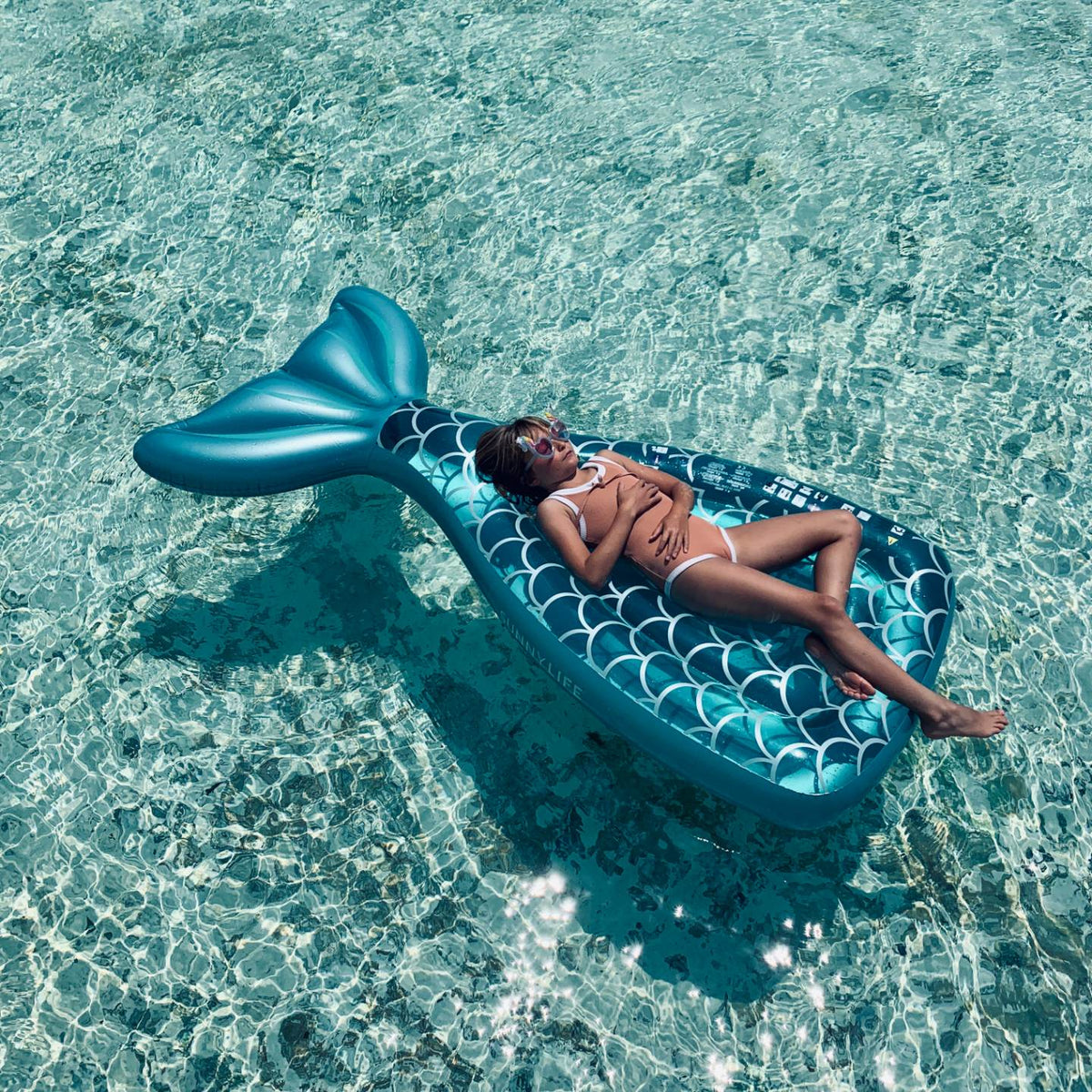 Luxe Lie-On Float | Mermaid