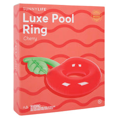 Luxe Pool Ring | Cherry