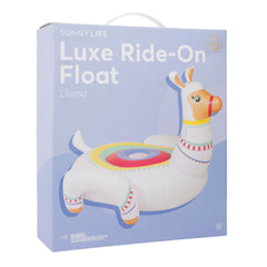 Luxe Ride-On Float | Llama