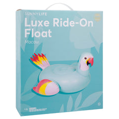 Sunnylife | Luxe Ride-On Float | Macaw