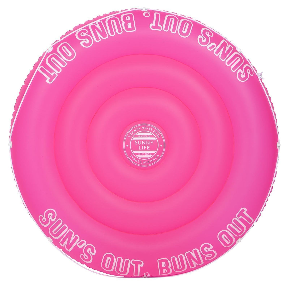 Sunnylife | Twin Round Float | Neon Pink