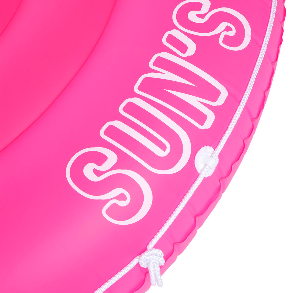 Sunnylife Twin Round Float | Neon Pink