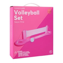 Sunnylife | Inflatable Volley-Ball Set | Neon Pink