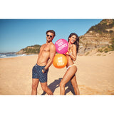 Sunnylife Inflatable Beach Ball | Neon Orange