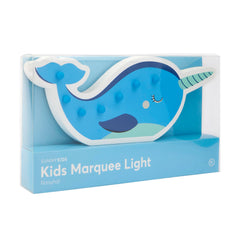 Sunnylife | Kids Marquee Light | Narwhal