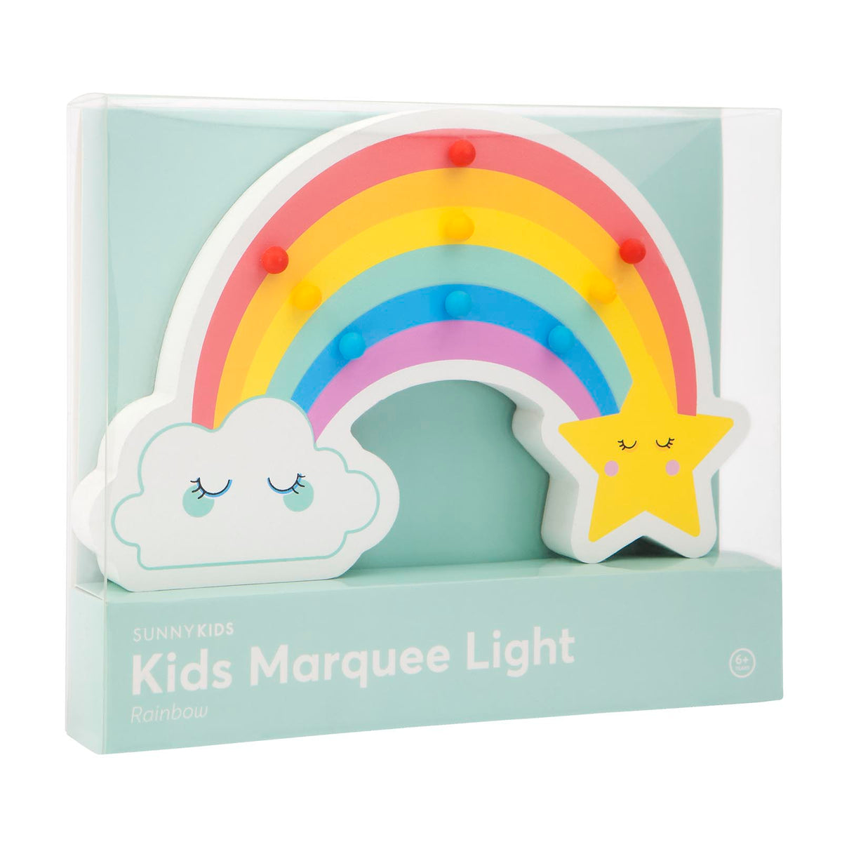 Kids Marquee Light | Rainbow