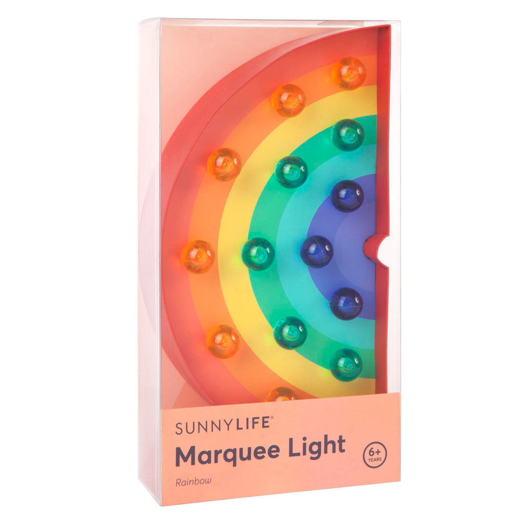 Sunnylife Marquee Light | Rainbow