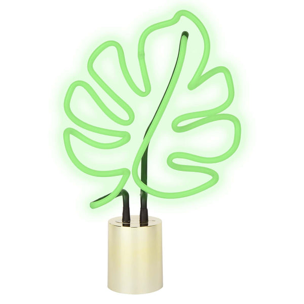 Sunnylife | Neon Light Large | Monstera Leaf