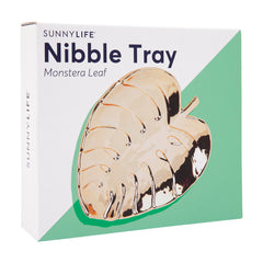 Sunnylife | Nibble Tray | Monstera Leaf