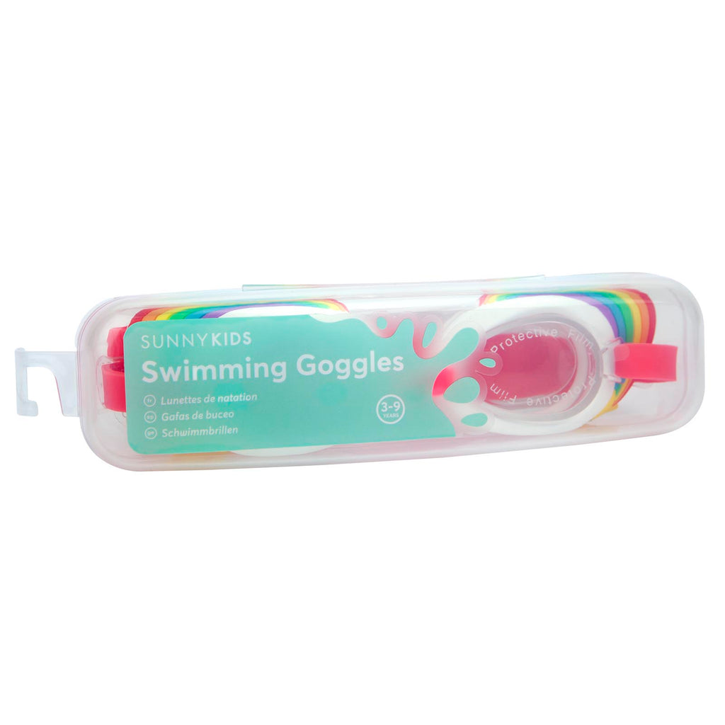 Sunnylife Shaped Swimming Goggles 3-9 | Rainbow