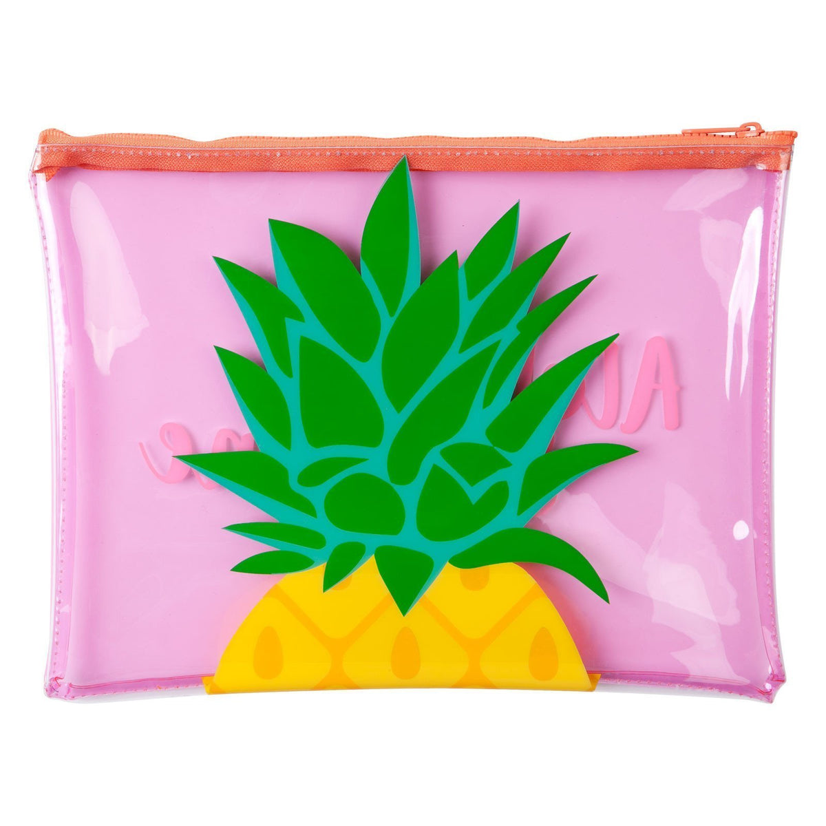 Sunnylife | See Thru Pouch | Pineapple