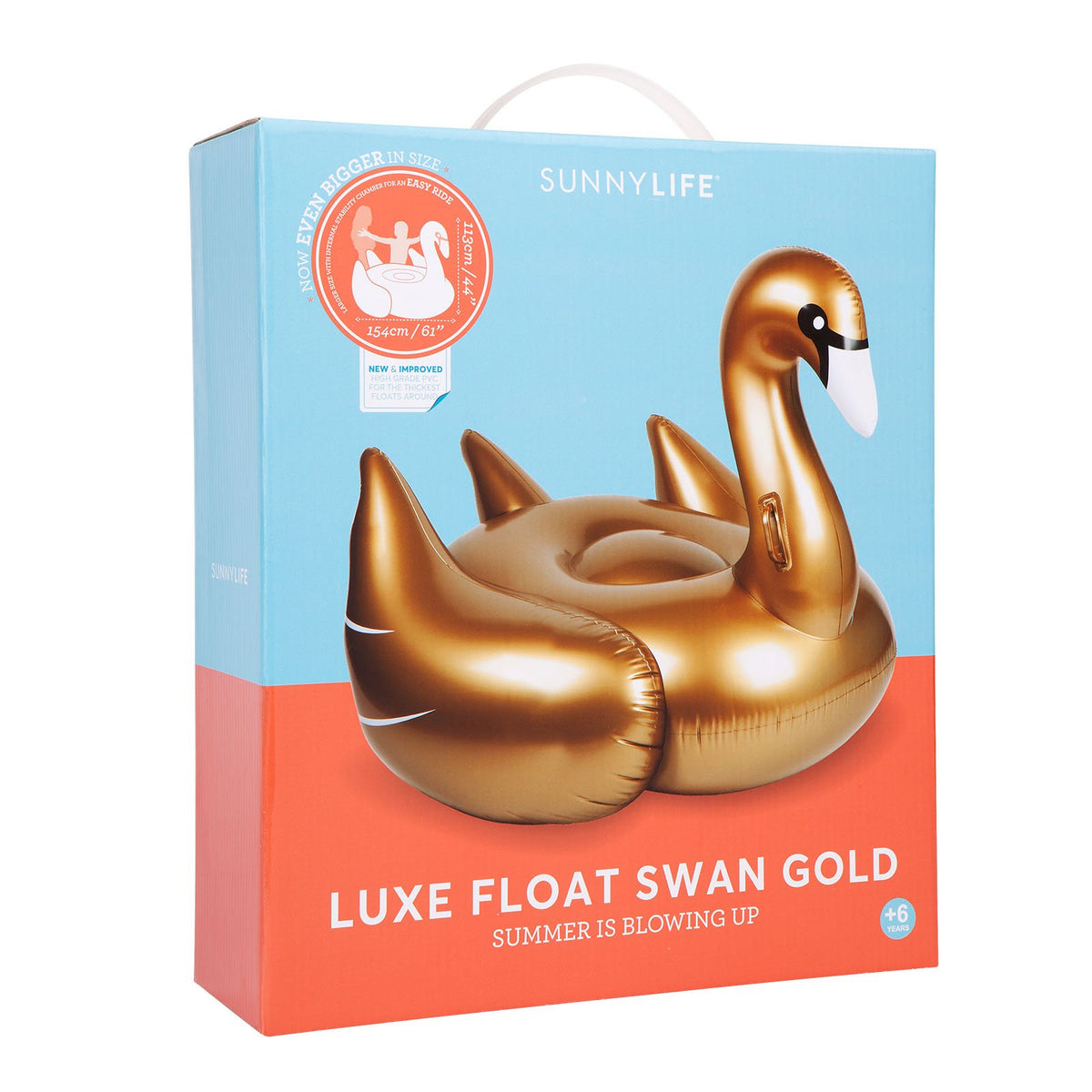 Luxe Float Swan | Gold