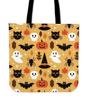 CAT Halloween Ghost Tote Bag