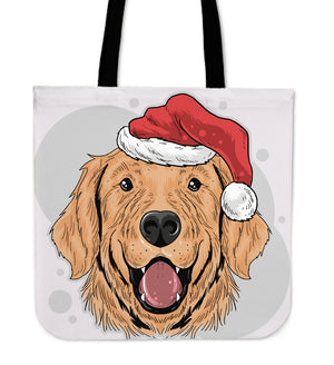 Have A Golden Christmas Tote Bag for Golden Retriever Dog Lovers