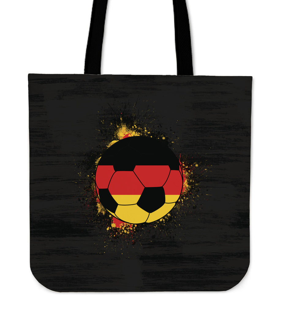 Black BG Germany Soccer Tote Bag